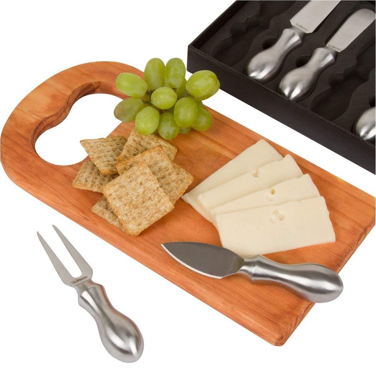 Premium Cheese Knives Set (Set of 5)