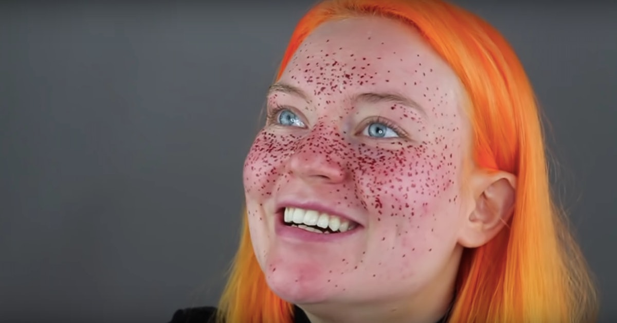 This YouTuber's Henna Semi-Permanent Freckle Fail Is The Biggest Cautionary Tale EVER