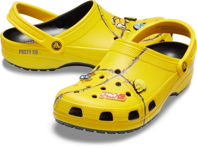 Post Malone X Crocs Barbed Wire Clog