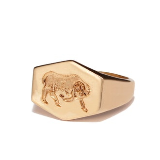 Zodiac Gold Ring