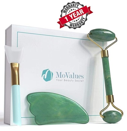 Original Jade Roller and Gua Sha Tools Set