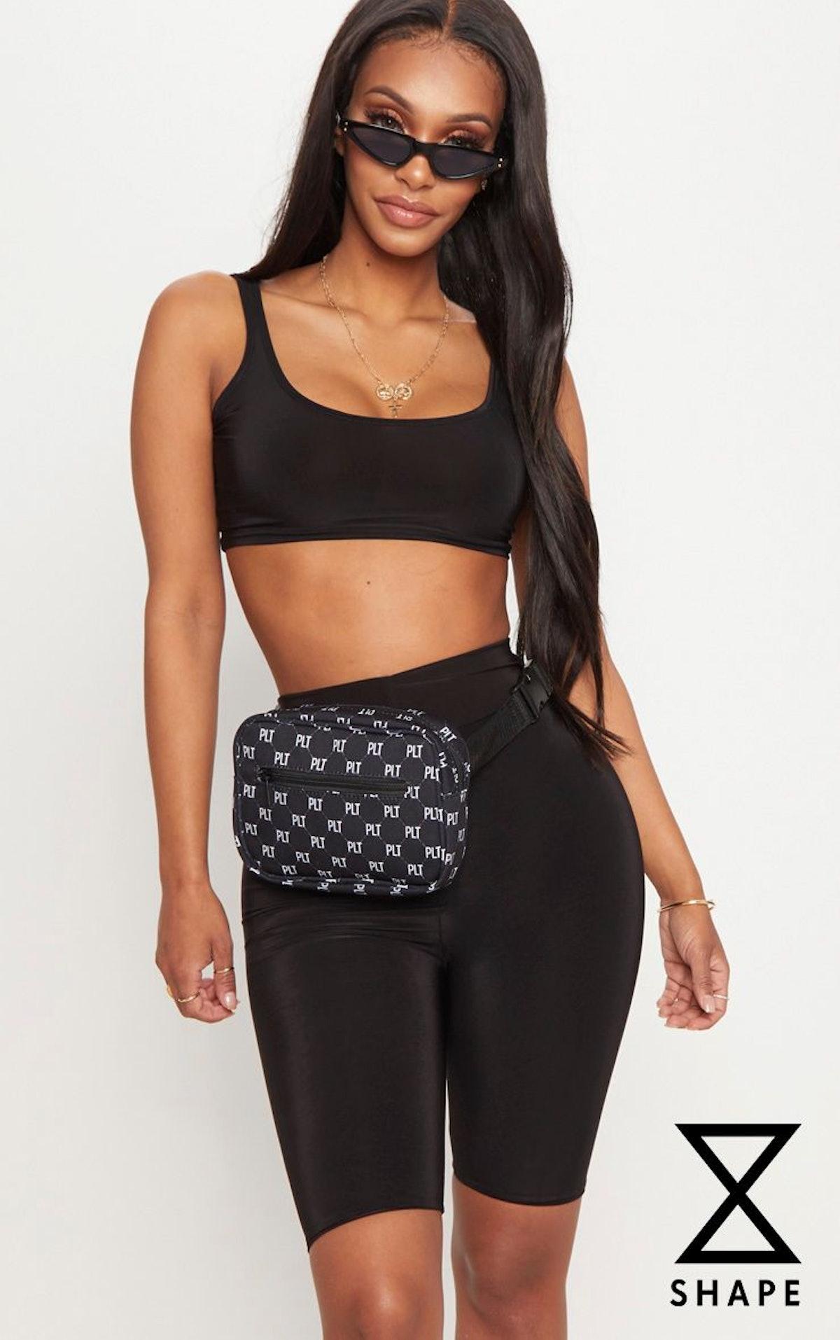 Shape Black Slinky Bike Shorts