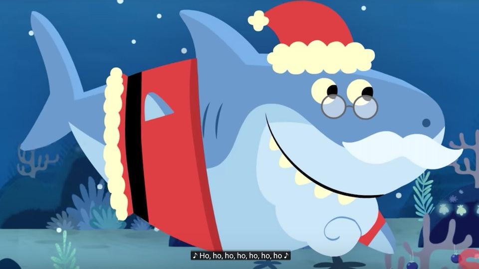 Santa Shark\
