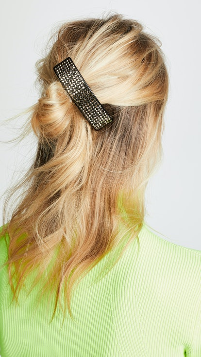 Marc Jacobs Resin Strass Barrette