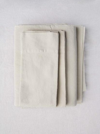 Washed Sateen Sheet Set