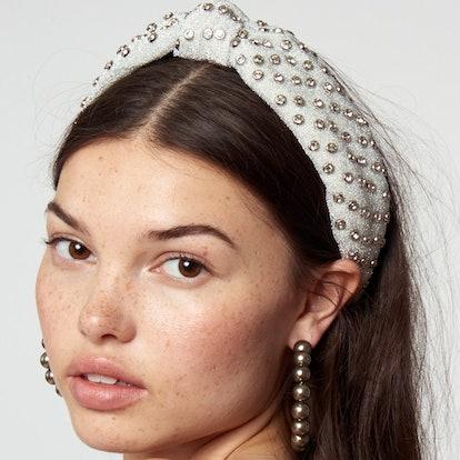 Silver Crystal Headband