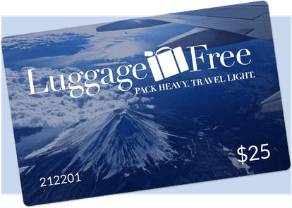 Luggage Free Gift Card
