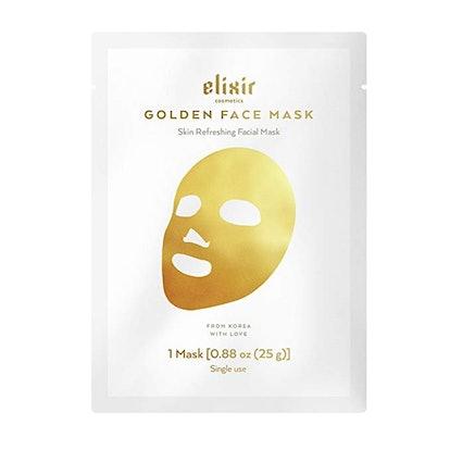 Elixir Cosmetics Gold Korean Face Mask