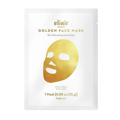 Elixir Cosmetics Gold Korean Face Mask