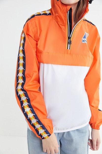 Kappa X K-Way Le Vrai Leon Popover Jacket