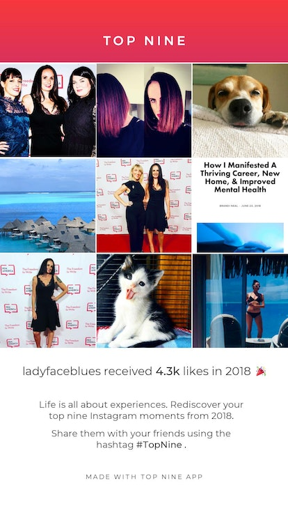 Your Top Nine collage puts together all of your best Instagram moments from 2019.