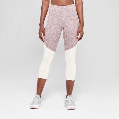 C9 Champion® - Women's Freedom High-Waisted Colorblocked Capri Leggings