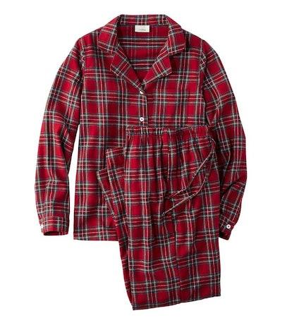 Scotch Plaid and Flannel Pajamas