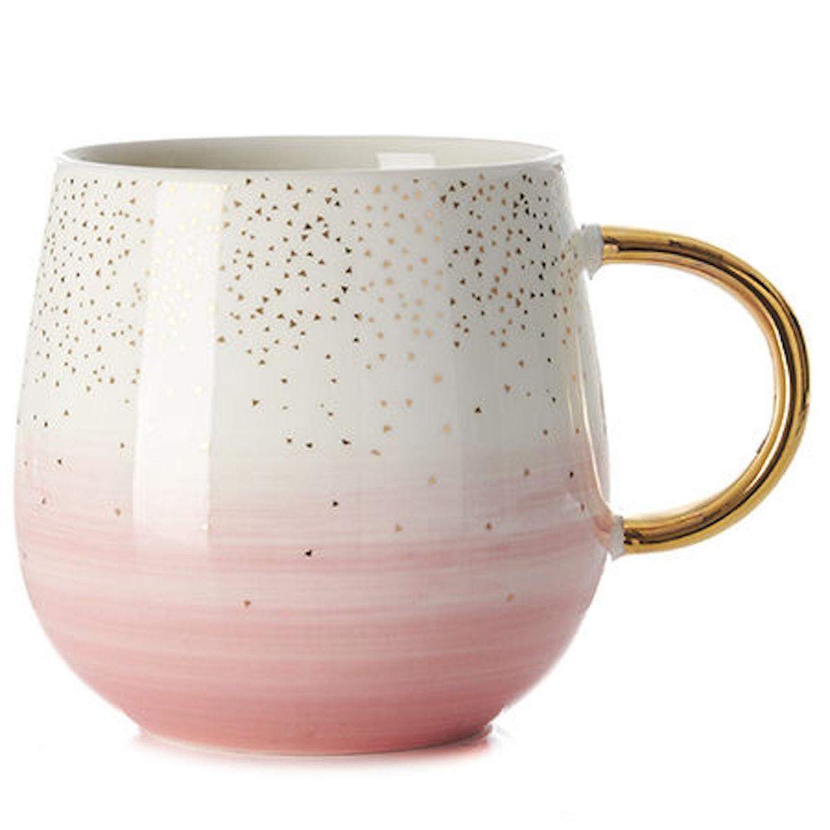 DAVIDsTEA Rose Sparkling Raindrop Mug