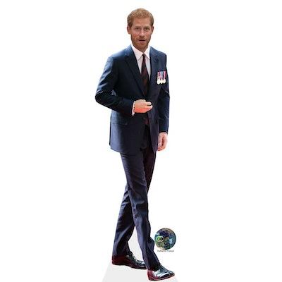 Prince Harry Cardboard Cutout