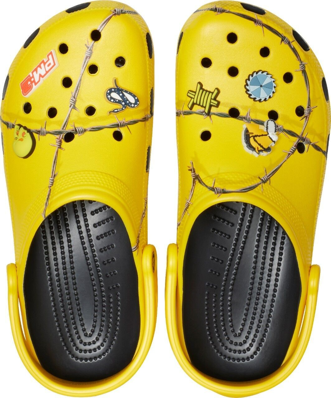Post Malone X Crocs Barbed Wire Clogs