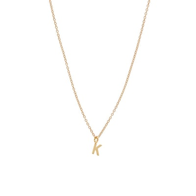 BYCHARI Initial Necklace