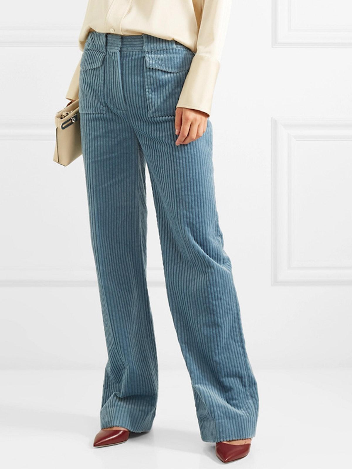 Cotton-Corduroy Pants
