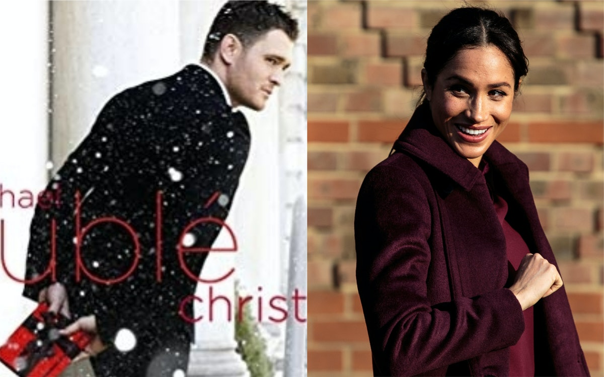 Michael Buble's Christmas Playlist For Meghan Markle Will Have You Bopping All Season Long