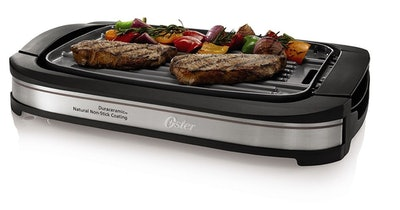 Oster Titanium Reversible Grill/Griddle