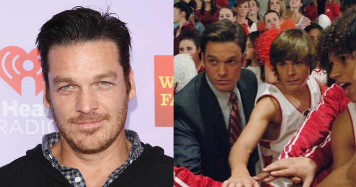 'High School Musical's Bart Johnson Is Bringing Coach Bolton & The Wildcats To Instagram
