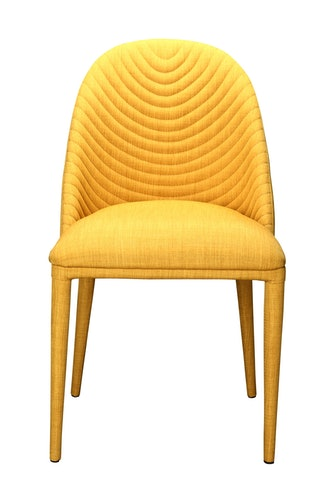 Gazsi Chairs in Lemon, Set of Two