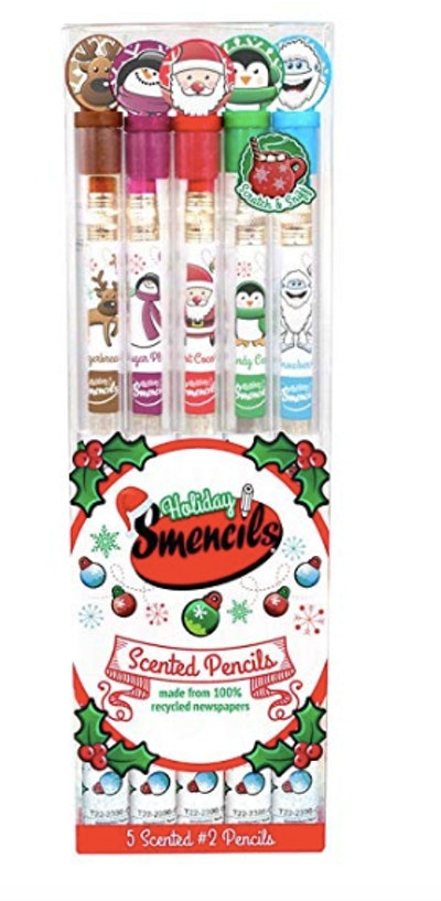 Holiday Smencils 5-Pack