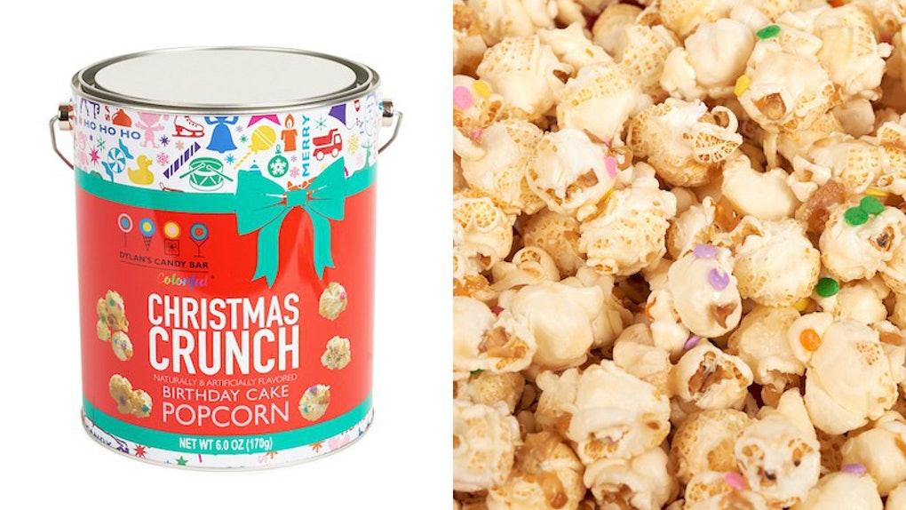 Targets Christmas Crunch Popcorn By Dylans Candy Bar Tastes Like Birthday Cake