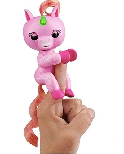 Fingerlings Light Up Unicorn Jojo (Pink)