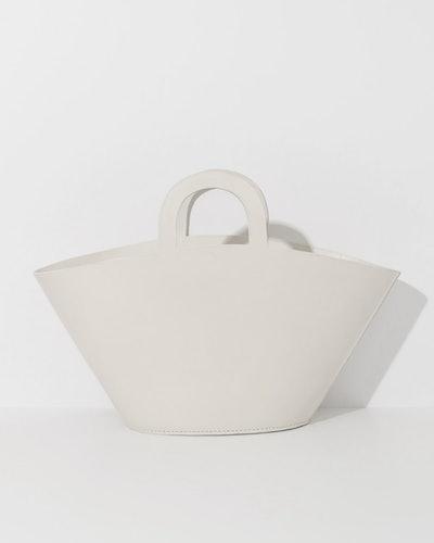 Lauren Manoogian White Barcelona Bag