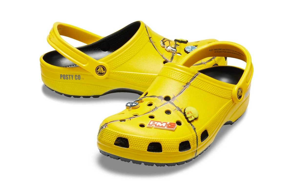 Where To Buy The New Crocs x Post Malone Collab, You Know, If You're Into That Kinda Thing