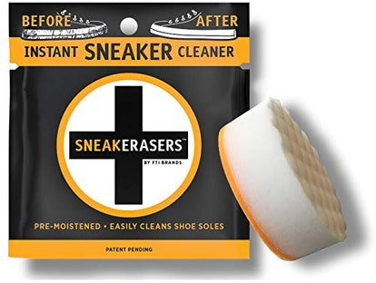 SneakErasers Instant Sneaker Sole Cleaning Sponges