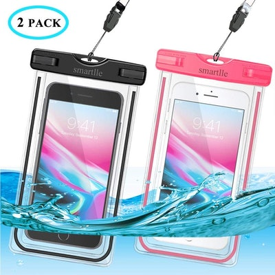 smartlle Waterproof Phone Case (2 Pack)