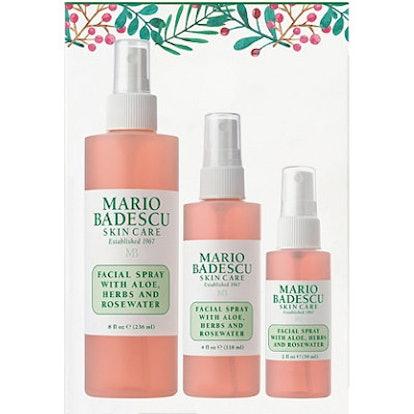 Mario Badescu Rosewater Facial Spray Trio