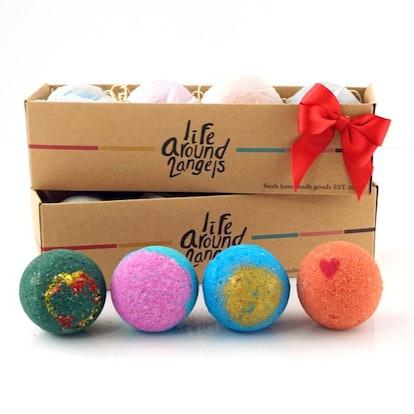 4 Bath Bombs Gift Pack