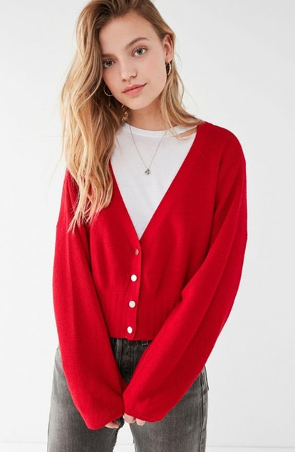 UO Matisse Snap Button Cardigan
