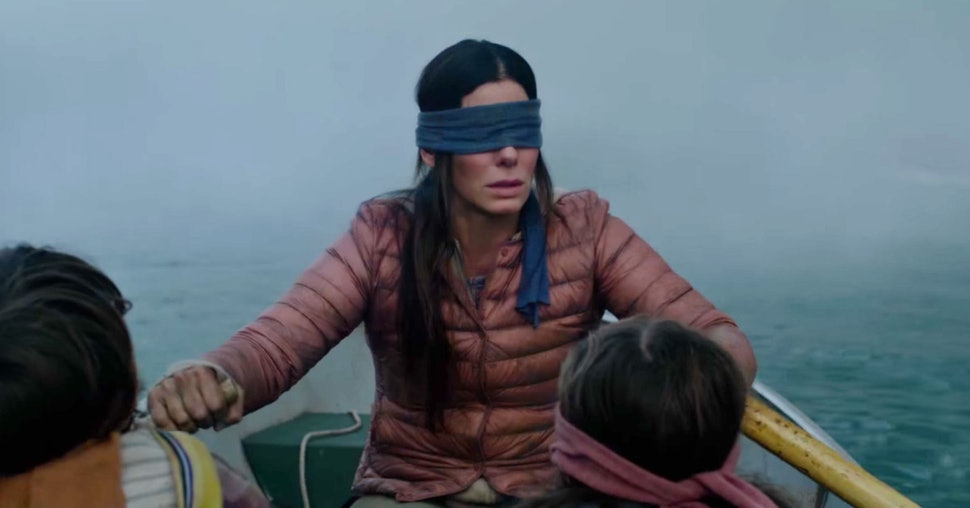 How Scary Is Bird Box The Post Apocalyptic Netflix Film Feeds On
