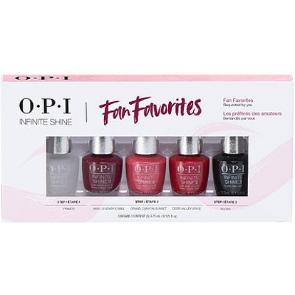 OPI Online Only Fan Faves Infinite Shine Mini 5-Pack