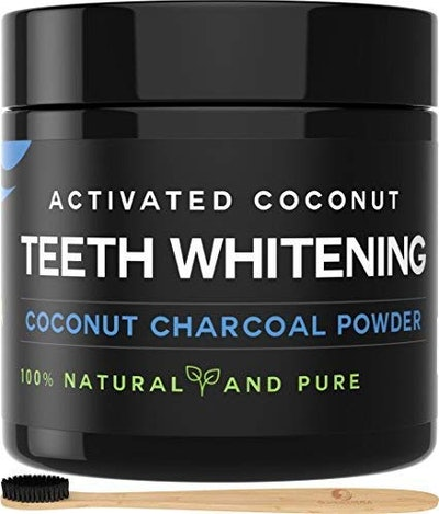 OniSavings Activated Charcoal Tooth Whitening Powder
