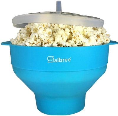 The Original Salbree Microwave Popcorn Popper