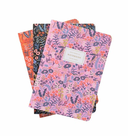 Tapestry Stitched Notebook Set