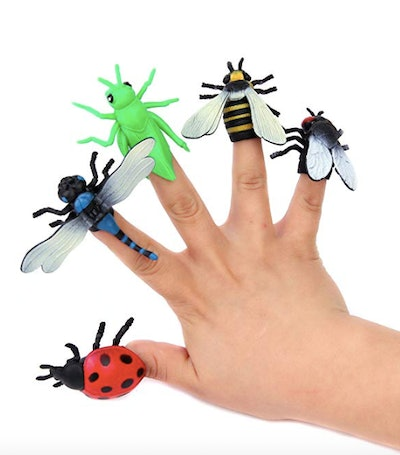 Assorted Insect Finger Puppets
