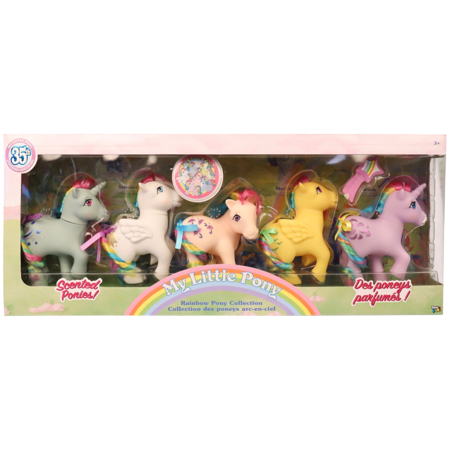 My Little Pony Retro Figures From Basic Fun Will Fire Up Your 80s