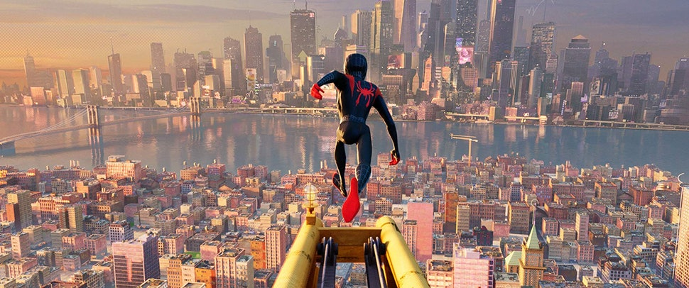 The Spider Man Into The Spider Verse Voice Cast Is Crawling With