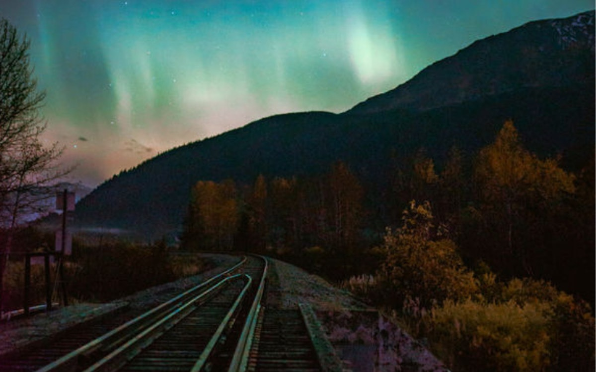 Alaska Railroad's Aurora Train Gets You So Close To The Northern Lights