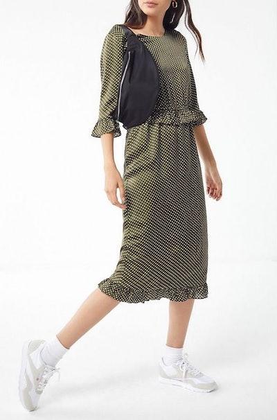 Verona Ruffle Midi Dress