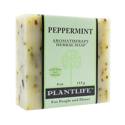 Plantlife Peppermint Aromatherapy Herbal Soap