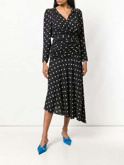 Polka Dot Print Dress