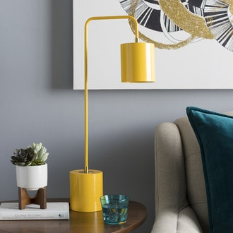 Nickie Table Lamp, Yellow