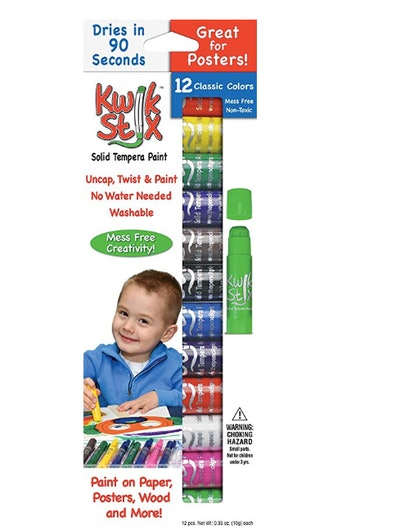 Kwik Stix Solid Tempera Paint 12-Pack